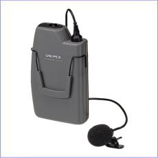 UNI-PEX 800MHz ワイヤレスマイクロホン タイピン型 WM-8100A